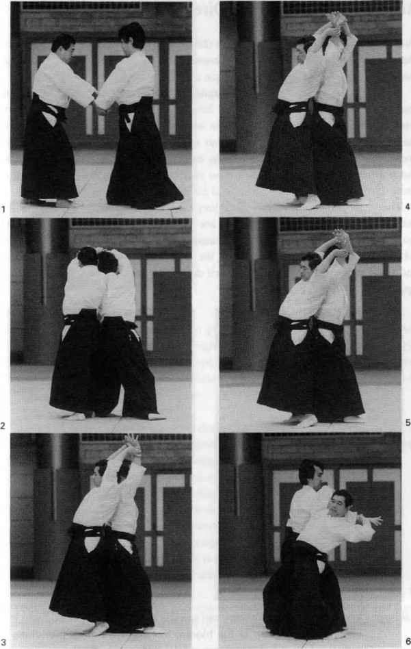 Aikido Techniques Step Step